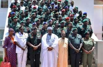 Barrow with Army