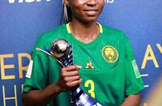 Nchout Ajara, player of the Match