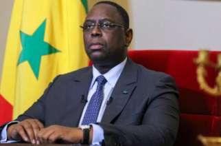 Senegal President Macky Sall