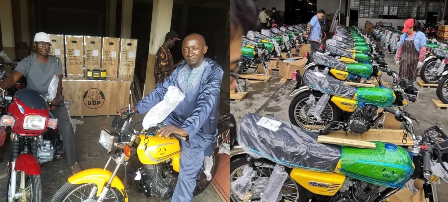 Gambia: UDP Unveils 60 Motorbikes, 6 Vehicles to Militants