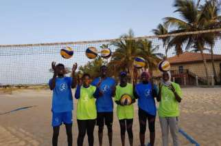 Gambia: Beach Volleyball team prepares for African Beach Games (Sal 2019)