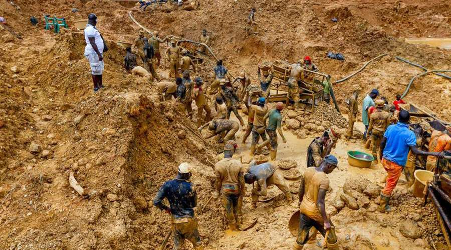 98.3 Percent of Ghana's Gold Remains in the Hands of Multinational Corporations