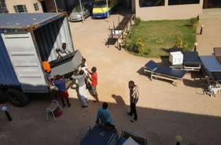Gambia: Lamin VDC removes garbage around Lamin health centre