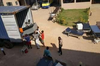 Gambia: Lamin VDC removes garbage around Lamin health centre