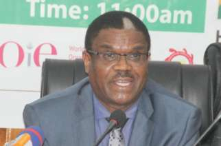 Dr Owen-Laws Kaluwa — WHO Country representative to Ghana