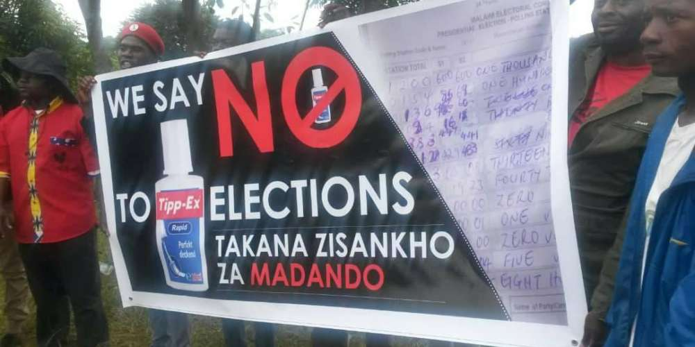 Malawi : Elections protests intensify against electoral body