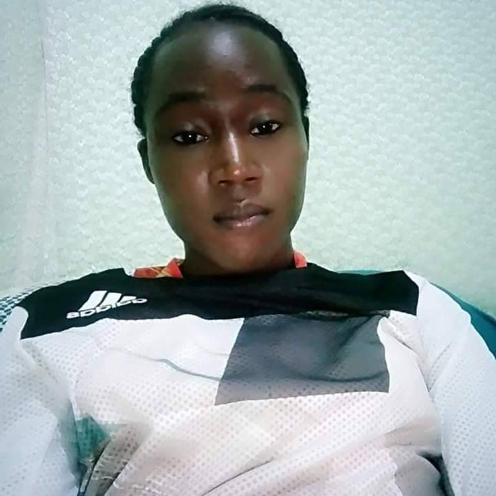 26-year-old suspect caught posing as a female intern at Moi Teaching and Referral Hospital. PHOTO| COURTESY