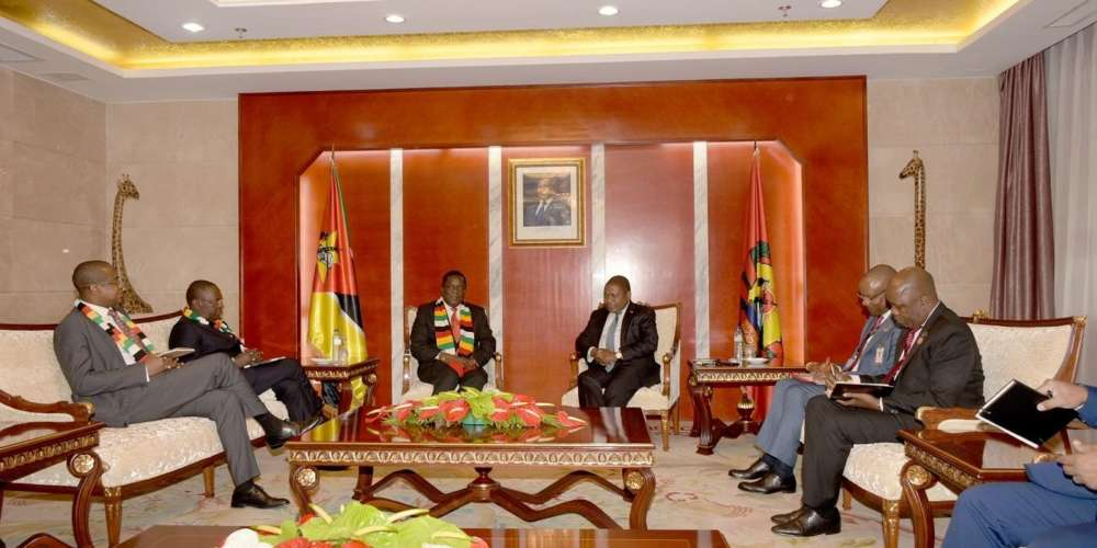 Zimbabwean President expresses interest in buying energy from Mozambique