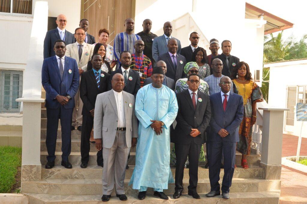 CISSA  with President Barrow