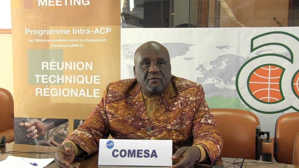 COMESA Climate Change Coordinator, Dr Mclay Kanyangarara