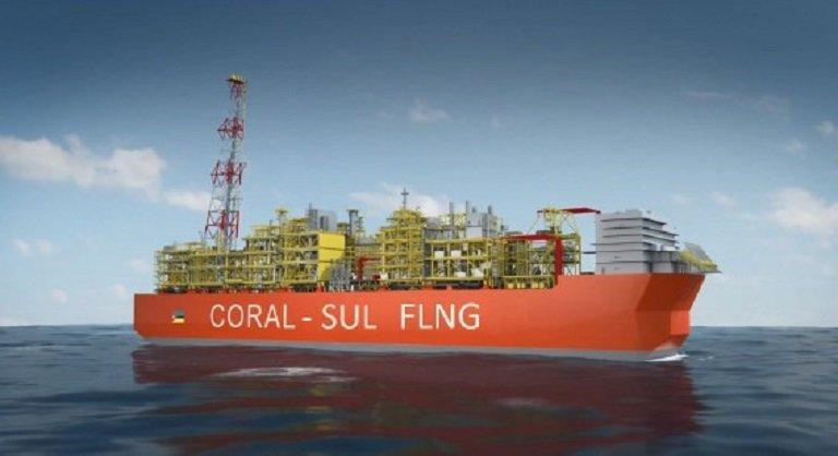 Mozambique: Eni starts the installation of the hull of Coral Sul FLNG
