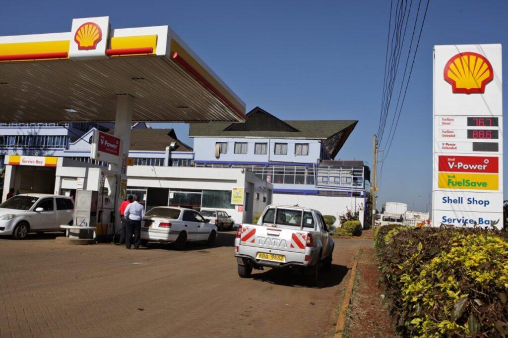 Kenya Shell Petrol Station