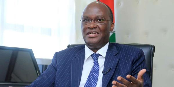 Cabinet Secretary for Transport and Infrastructure James Macharia