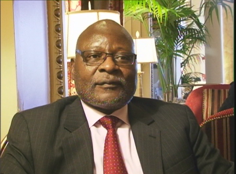 Newly appointed Minister of Presidential Affairs, Martin Andjamba