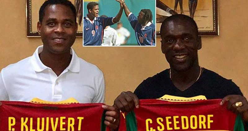Cameroon: Head coach Clarence Seedorf, Assistant Patrick Kluivert Sacked